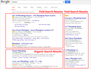 What is seo. Organic vs paid listings